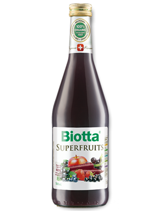 JUGO SUPERFRUITS 500ML BIO - BIOTTA - 7618500948512