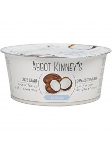 **POSTRE VEGETAL DE COCO NATURAL 125ML - ABBOT KINNEYS - 8719189236507
