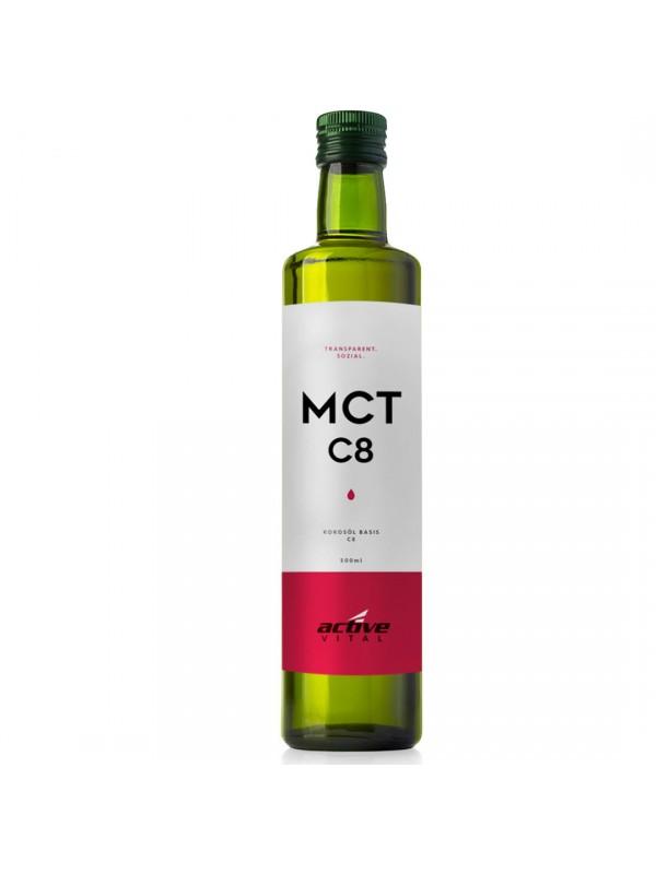 MCT OIL ACEITE DE COCO NEUTRO 500ML - C8 - ACTIVEVITAL