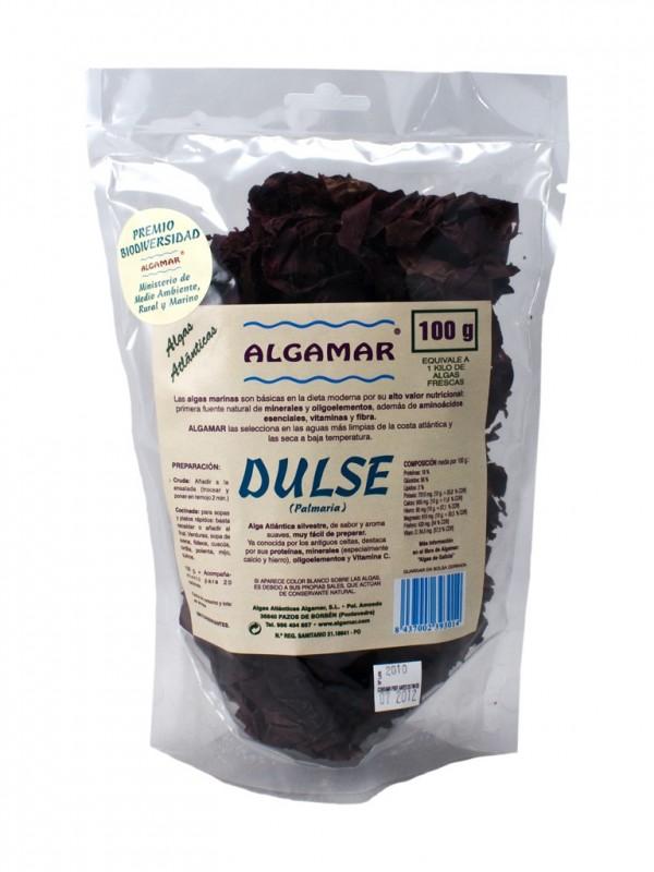 ALGA DULSE HOJAS 100 GR - ALGAMAR - 8437002393014
