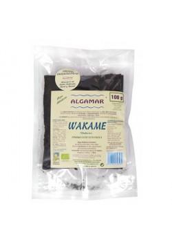 ALGA WAKAME HOJAS 100 GR - ALGAMAR - 8437002393069