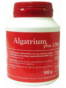 ALGATRIUM PLUS 1200MG (840MG DHA) 60 PERLAS - ALGATRIUM - 8470001611154