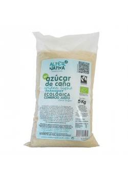 AZUCAR DE CAÑA GOLDEN PARAGUAY 5KG BIO - ALTERNATIVA COMERCIO JUSTO - 8435030573385