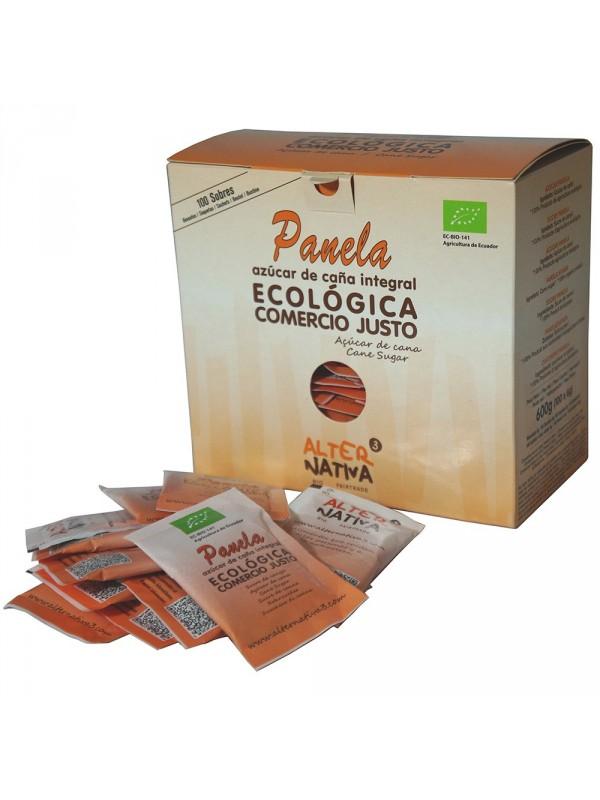 AZUCARILLOS PANELA ECUADOR 100 SOBRES BIO - ALTERNATIVA COMERCIO JUSTO - 8435030574382