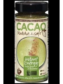 CACAO MATCHA & CAFE 230GR BIO - AMANPRANA VITALIDAD SERENA - 5425013649209