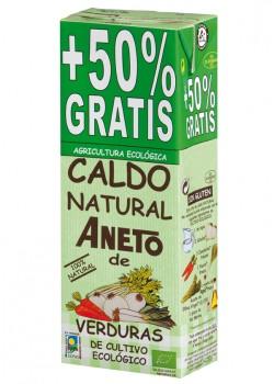 CALDO DE VERDURAS 1L + 500ML BIO - ANETO - 8410748302168