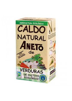 CALDO DE VERDURAS 1L BIO - ANETO - 8410748302007