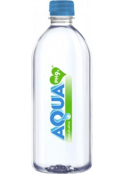 AGUA ALCALINA PH9 500ML - AQUA FIT - 8437015309026
