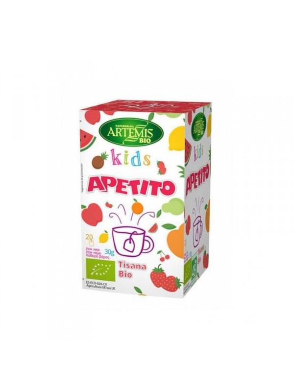 INFUSION APETITO KIDS 20 FILTROS BIO - ARTEMIS - 8428201311138