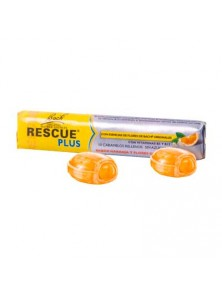 RESCUE CARAMELOS PLUS 42GR - BACH ORIGINAL FLOWER REMEDY - 5000488109498