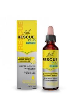 RESCUE REMEDI PLUS SIN ALCOHOL 20ML - BACH ORIGINAL FLOWER REMEDY - 5000488300673