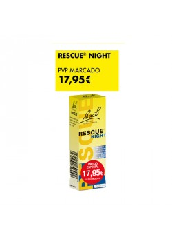 RESCUE REMEDY NIGHT 20ML DESCUENTO ESPECIAL  - BACH ORIGINAL FLOWER REMEDY - 8424657716558