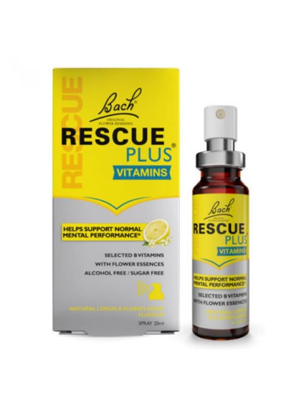 RESCUE REMEDY SPRAY PLUS SIN ALCOHOL 20ML - BACH ORIGINAL FLOWER ESSENCES - 5000488300680