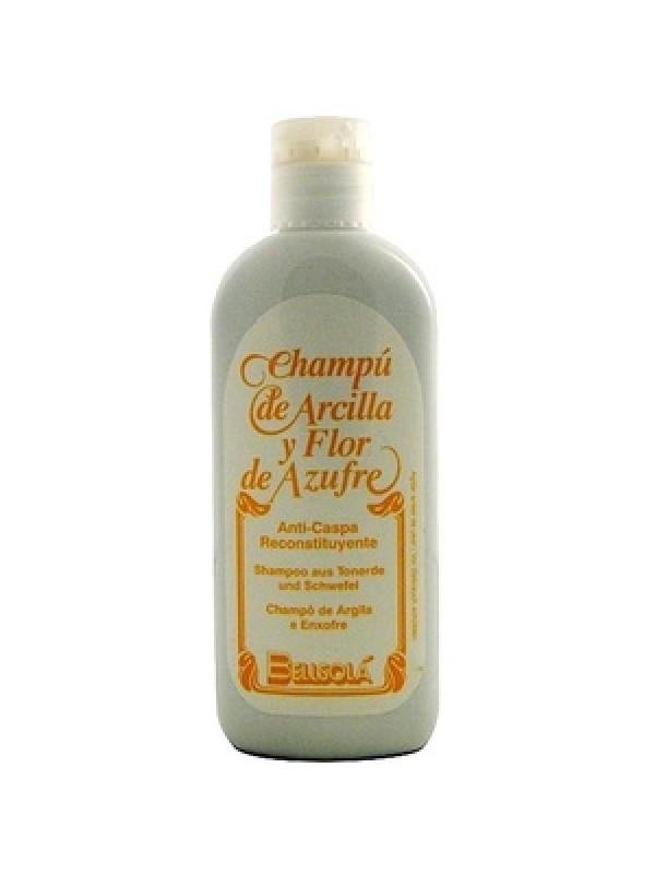 SHAMPOO ARCILLA Y FLOR DE AZUFRE 250ML - BELLSOLA - 8431656002025