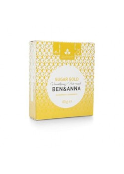 CERA DEPILATORIA SUGAR GOLD 60GR - BEN & ANNA - 4260491220400