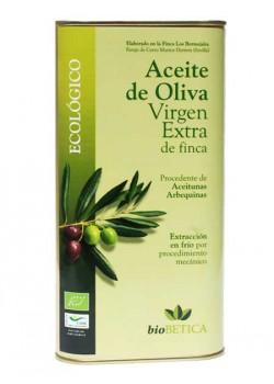 ACEITE DE OLIVA VIRGEN EXTRA  PROCEDENTE DE ACEITUNA ARBEQUINA 1L BIO - BIO BETICA - 8437007977356