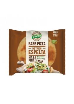BASE PIZZA MASA FINA ESPELTA 3 BASES BIO - BIOCOP - 8423903054949