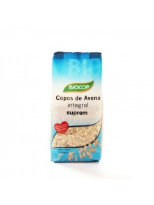 COPOS DE AVENA INTEGRAL SUPREM 500GR BIO - BIOCOP - 8423903020531