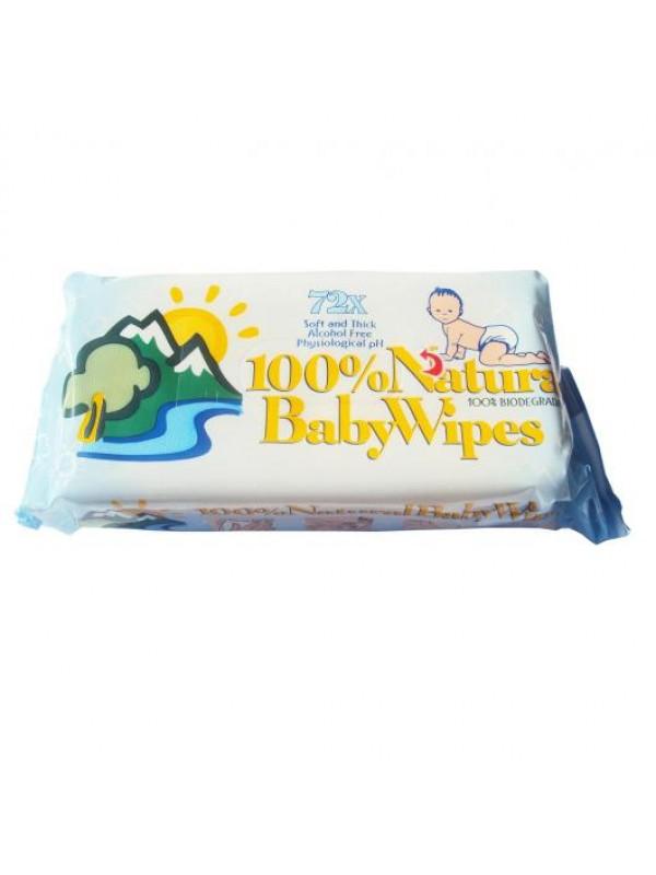 TOALLITAS HUMEDAS BABYWIPES 72 UNIDADES - 8007145145025