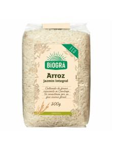 ARROZ JAZMIN INTEGRAL 500 GR BIO - BIOGRA - 8426904171844