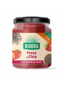 MERMELADA DE FRESA Y CHIA 200GR - BIOGRA - 8426904176771