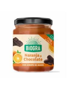 MERMELADA DE NARANJA Y CHOCOLATE 200GR - BIOGRA - 8426904176795