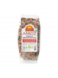 MEZCLA DE ARROCES SALVAJES 250GR - BIOGRA - 8426904176719