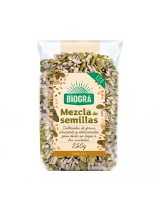 MEZCLA DE SEMILLAS PARA ENSALADA 250GR - BIOGRA - 8426904176726