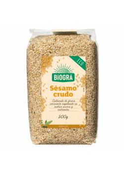 SEMILLAS DE SESAMO CRUDO 500GR BIO - BIOGRA - 8426904171578