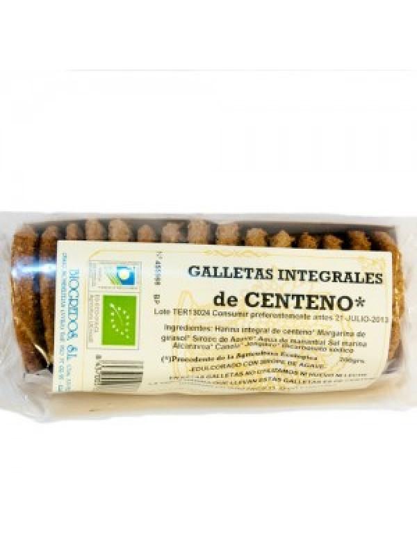 GALLETAS DE CENTENO GALLETAS DE CENTENO INTEGRALES 200GR BIO