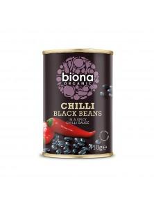 CHILI BLACK BEANS 410GR BIO - BIONA - 5032722315075