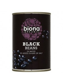 BLACK BEANS 400GR BIO - BIONA - 5032722309791