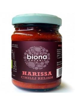 HARISA SALSA PICANTE CON GUNDILLAS 125ML BIO - BIONA - 5032722306011