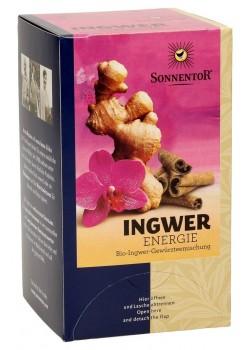 INFUSION JENGIBRE ENERGIA 20 BOLSITAS - SONNENTOR - 9004145028517
