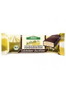 **BARRITAS DE CHOCOLATE Y AMARANTO BIO - ALLOS - 4016249003210