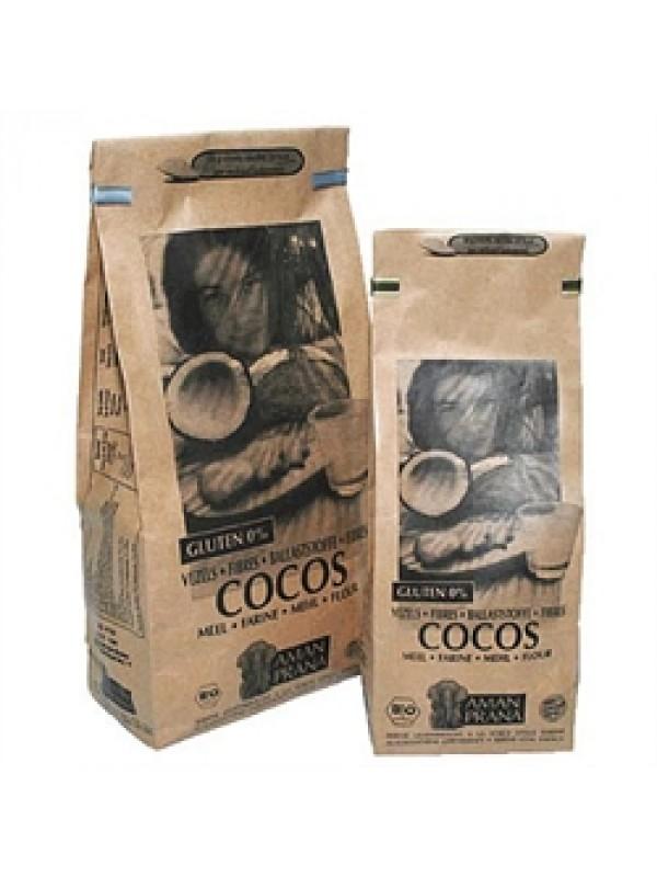 HARINA DE COCO 'TRANSIT' 500GR RAW BIO - AMANPRANA VITALIDAD SERENA - 5425013640800