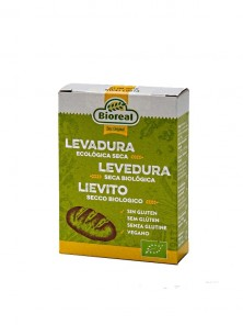 LEVADURA ACTIVA SECA 5X9GR BIO - BIOREAL - 4260028363426
