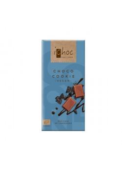 CHOCOLATE CON COOKIES 80GR BIO - ICHOC - 4044889002737