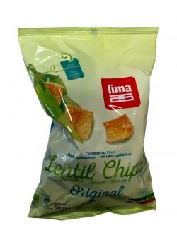 CHIPS LENTEJAS ORIGINAL 90GR BIO - LIMA - 5411788047043