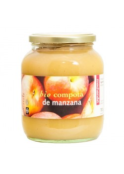 COMPOTA DE MANZANA 360GR BIO - MACHANDEL - 8713938000036
