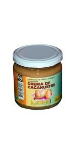 CREMA DE CACAHUETES 330GR BIO - MONKI - 8712439035608