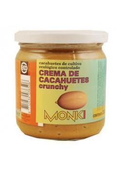 CREMA DE CACAHUETES CRUJIENTE 330GR BIO - MONKI - 8712439036506