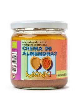 CREMA DE ALMENDRAS 330GR BIO - MONKI - 8712439035103