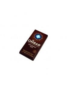 CHOCOLATE NEGRO CON CREMA DE COCO CRUDO 35GR BIO - OMBAR - 5060102661108