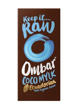 CHOCOLATE CRUDO CON CREMA DE COCO 70GR BIO - OMBAR - 5060102662105