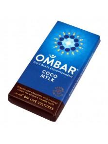 CHOCOLATE CRUDO CON CREMA DE COCO 35GR BIO - OMBAR - 5060102661870