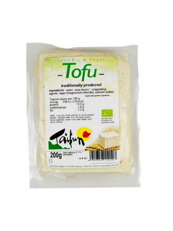 TOFU NATURAL 400GR BIO - TAIFUN - 4012359110206