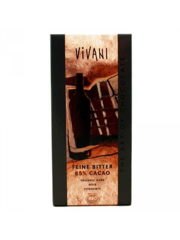 CHOCOLATE NEGRO 85% 100GR BIO - VIVANI - 4044889000054