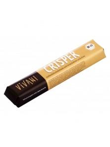 **BARRITA DE CHOCOLATE CRISPER 45GR BIO - VIVANI - 4044889000511