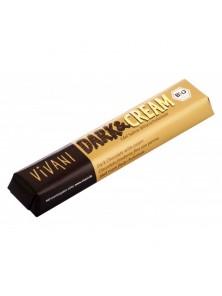 **BARRITA DE CHOCOLATE DARK-CREAM 45GR BIO - VIVANI - 4044889000528